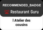 L' atelier Des Cousins en Restaurant Guru