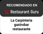 La Carpinteria gastrobar restaurante en Restaurant Guru