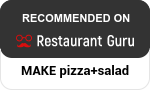 MAKE pizza+salad at Restaurant Guru