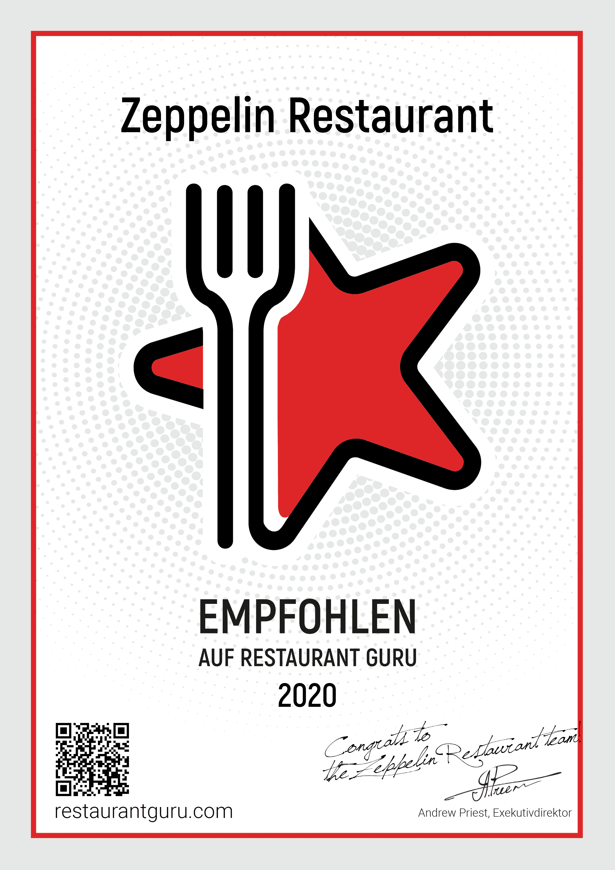 Zeppelin Restaurant - Guru