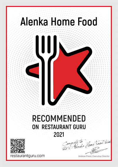 Restaurant Alenka Home Food - Recommended in Helsinki
