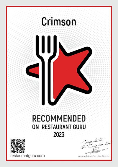 Crimson - Recommended in Santa Monica